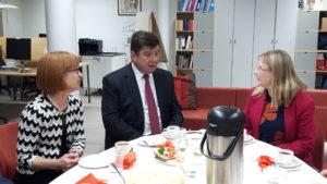 Vieraita Suomalais-venäläisessä koulussa