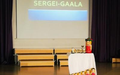 Vuoden kohokohta, oppilaskuntien järjestämä Sergei-gaala alkamassa! Oppilaiden t…