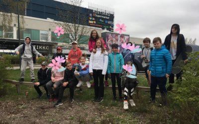 Koulumme unelmien liikuntapäivä. 6C-luokan suoritus: HopLop Konala ja 5km kävely…