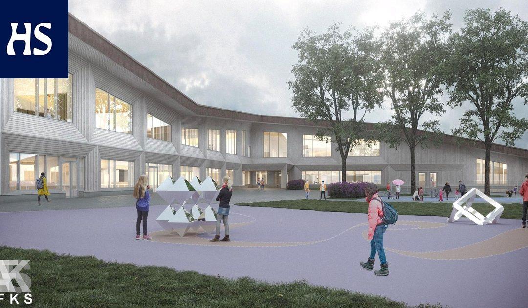Helsinkiin rakennetaan jättimäinen puukoulu – vanha Suomalais-venäläinen koulu puretaan pian