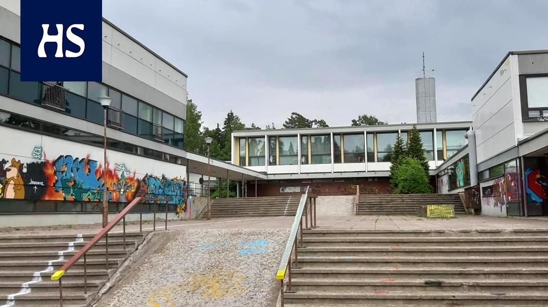 HS Helsinki: Koulu peittyi graffiteihin vain viikkoja ennen purkamista