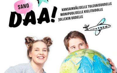 Sano daa Suomalais-venäläisen koulun lukiolle, vaikka et vielä osaisikaan venäjä…