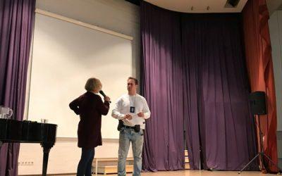 Vanhempi konstaapeli Kristian Paavolainen vieraili vanhempainillassa torstaina 2…
